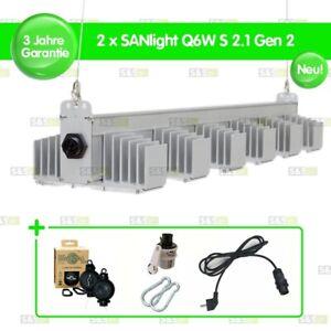 2x SANlight Q6W S2.1 Gen2 245W + Easy Rolls + Netzkabel + Karabiner + Dimmer