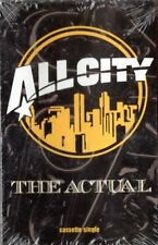 All City The Actual Rap Hiphop Cassette Tape Single New Sealed