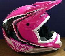 Fly Racing Kenetic Fullspeed Helmet Pink/Black/White Medium