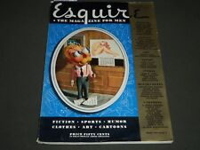 1940 JAN ESQUIRE MAGAZINE - GEORGE PETTY ILLUSTRATION - COVER AND ADS - ST 5057