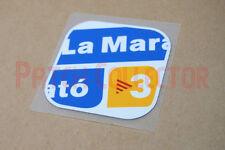 La Marato TV3 parche Espanyol Vs Barcelona Home 2010/11 Manga Fútbol Parche