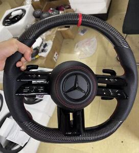 Mercedes benz Genuine 2022 AMG Carbon Fiber steering wheel
