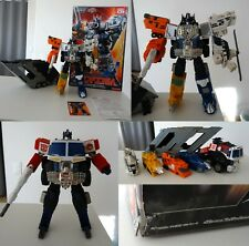 Transformers superlink,Grand Convoy (Optimus),Energon,Takara,rare,Cybertron,toy