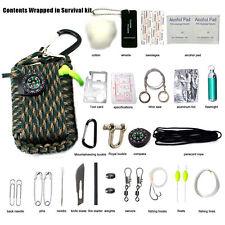 29 in 1 Outdoor Survival Set Überlebensset Kit Notfallset mit Minikompass