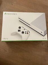 Microsoft Xbox One S 1TB Weiß Spielekonsole -WIE NEU-