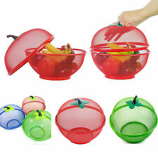 MESH BOWL FRESH FRUITS & VEGETABLE Storage Basket Keep Flies  Insects Out