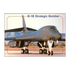 USAF - B-1B Estratégico Bombardero - Avión Tarjeta postal - Bueno Calidad