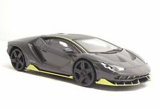 1/43 bburago lamborghini centenario black new in box home delivery