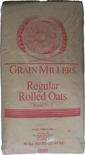 Grain Millers Regular Rolled Oats 50 Lbs