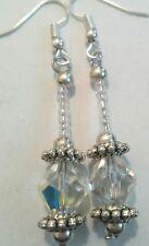 crystal bead earrings dangle