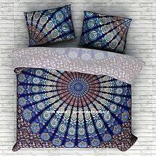 Bed Sheet Indian Ethnic Bedding Set Hippie Gypsy Bohemian Mandala Twin Tapestry