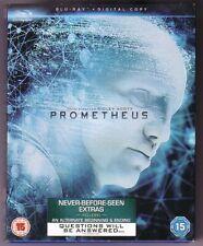 PROMETHEUS Blu-Ray Digital 2012 ALIEN Ridley Scott-Michael Fassbender EXCELLENT!