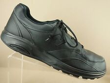 New Balance MW812BK Black Leather Walking Stability Roll Bar Sneakers Mens 16 D