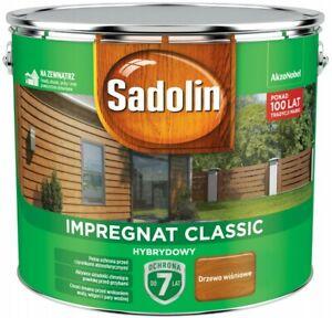 Sadolin Classic HolzImprägnierung 2,5L 4,5L 9L Holzschutz hybrides farbauswahl