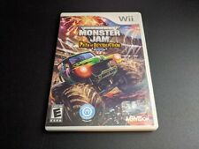 Monster Jam Path of Destruction Nintendo Wii EX+NM condition COMPLETE!