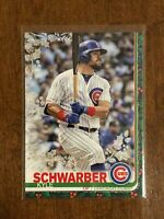 2019 Topps Walmart Holiday Baseball Metallic - Kyle Schwarber - Chicago Cubs