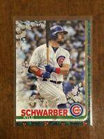 2019 Topps Walmart Holiday Baseball Metallic - Kyle Schwarber - Chicago Cubs