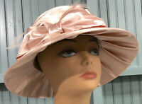 Swan Hat New York Vintage 57cm Dress Big Bow Church Hollywood Glamour Hat