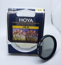 46mm CPL PL-CIR HOYA for SLR camera circular polarizer lens slim ring