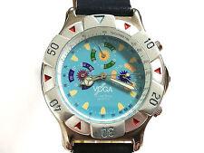 Reloj pulsera hombre VOGA QUARTZ MULTIFUNCTION Original celeste Vintage