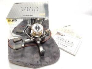 Shimano Stella 3000 Spinning Moulinet Utilisé K496
