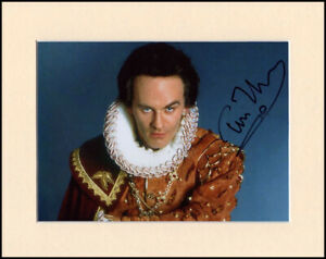 Tim McInnerny Lord Percy Blackadder Original Signed Mounted 10x8 Autograph Photo