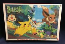 Pokemon Jigsaw Puzzle 150 Piece Pikachu Pocket Monster Ser 2 Vintage NEW SEALED