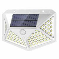 Bianco Energia Solare Sensore di Movimento Muro Luci Giardino Esterno di Lampada