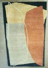 3' x 5' Authentic Tufenkian Wool Tibetan Hand Knotted Stones Wintermoon Area Rug