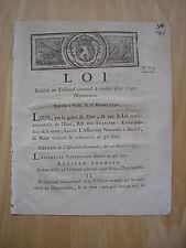 LOI relative au Tribunal criminel à établir dans chaque département 1791