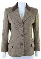 MISSONI Womens 3 Button Blazer Jacket UK 14 Medium Multicoloured Rayon  KB15