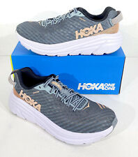 Hoka One One Rincon Women's Size 6.5 Lead/Pink Sand Running Athletic Shoes X5-69