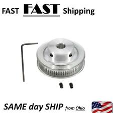 GT2 Timing Belt Pulley Aluminum - 8mm Bore - 60 Teeth - for RepRap 3D printer