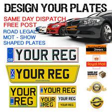 3M Car Number Plates & Surrounds