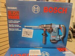 "Bosch RH328VC 8.0 Amp 1-1/8"" SDS Plus Rotary Hammer- OPEN BOX"