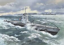 U-Boot tipo II b 1939 (U-9, u-19 Kriegsmarine MKGS) 1/144 ICM U-Boat