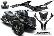 CAN-AM BRP SPYDER RS GS GRAPHICS KIT CREATORX DECALS SPIDERX SILVER