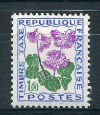 FRANCE 1964, timbre TAXE  102, fleurs Soldanelle neuf**