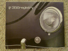 1990 Porsche 356 Registry Magazine Vol#15 No. 2, Dec '82 / Jan '91 Early & Rare!
