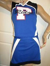 Real High School Cheerleader Uniform Outfit Costume P Ridge Adult S 34/28