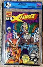 X-Force #1 Newsstand Deadpool Trading Card 9.4 EGS CGC CBCS
