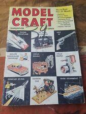 1954 MODEL CRAFT HANDBOOK AIRPLANE REMOTE CONTROL CIRCUS CAP GUNS MORE