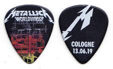 Metallica James Hetfield Cologne 6/13/19 Guitar Pick - 2019 WorldWired Tour