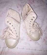 Zara Girls Lace Look Trainer Ankle Boots, Size 11 - Fab!