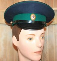 Original uniform service cap Hat Badge Vintage Sovie USSR Size 58