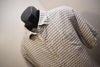 33674 Mens Tommy Bahama Relax 100% Silk Striped Hawaiian Shirt Size XL