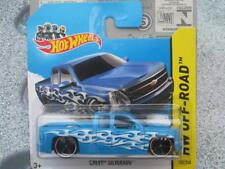 Hot Wheels 2014 #132/250 Chevrolet Silverado bleu HW Hors-Piste