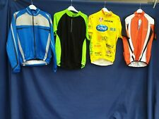 Joblot 4 x Cycling Jersey tops Quick Dri Size Med  Adults top Jacket #B55