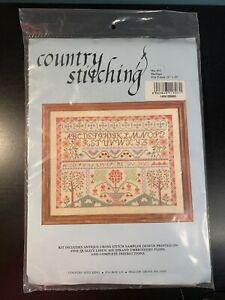 """Country Stitching #412 """"Heritage"""" Stamped Cross Stitch Kit New Old Stock"""