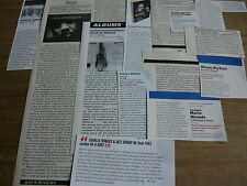 CHARLES MINGUS - MAGAZINE CUTTINGS COLLECTION (REF T6)
